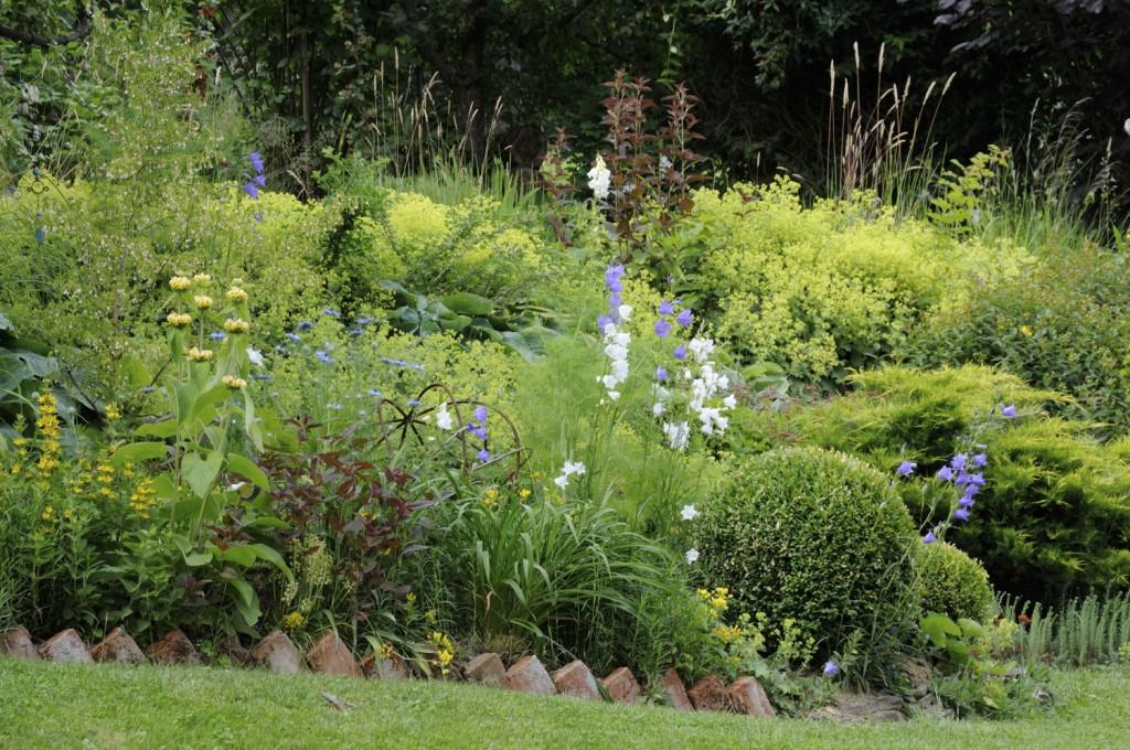 Der Schnittblumengarten