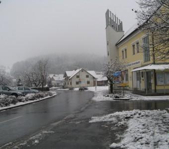 Ortsdurchfahrt Auersbach 2013